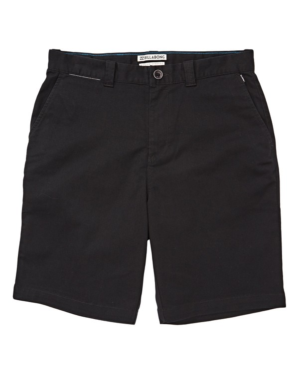 0 Boys' (2-7) Carter Stretch Shorts Black K236TBCS Billabong