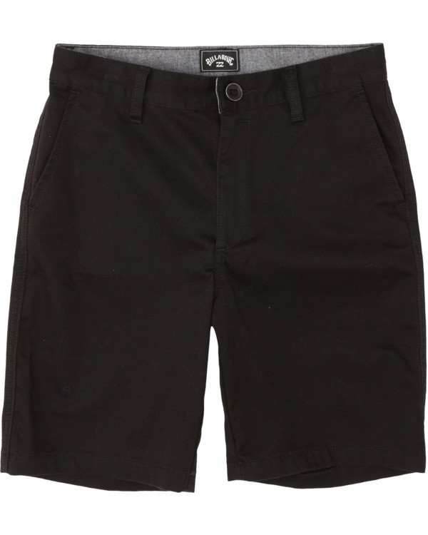 0 Boys' (2-7) Sandpiper Twill Walkshort Black K2371BST Billabong
