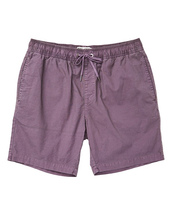 0 Boys' (2-7) Larry Layback Boardshorts Purple K239TBLL Billabong
