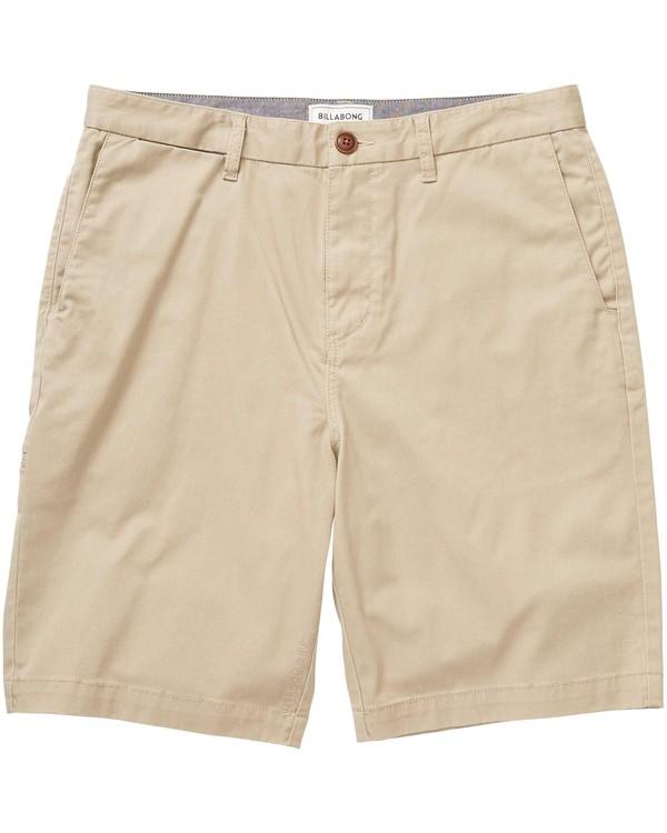 0 Boys (2-7) Carter Stretch Shorts Green K250GCAS Billabong