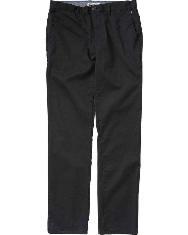 0 Boys' (2-7) Carter Chino Pant  K309LCCH Billabong