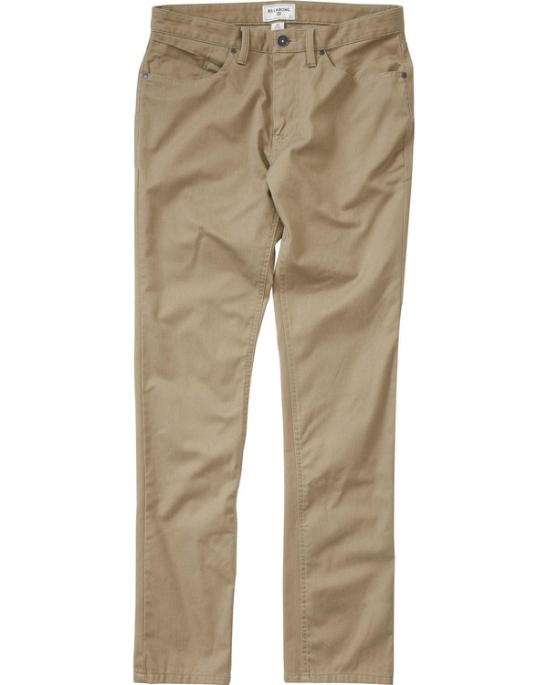 0 Boys' (2-7) Carter Stretch Chino Pant Beige K311LCAS Billabong