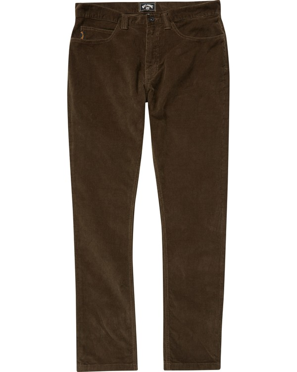 0 Boys' (2-7) Outsider Cord Pants  K316QBOU Billabong