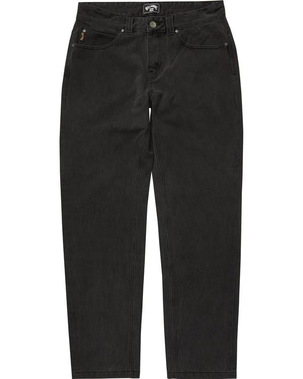 0 Boys' (2-7) Outsider Jeans Black K330QBOJ Billabong