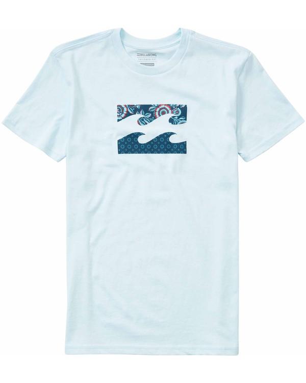 0 Boys' (2-7) Team Wave T-Shirt  K401LTEA Billabong