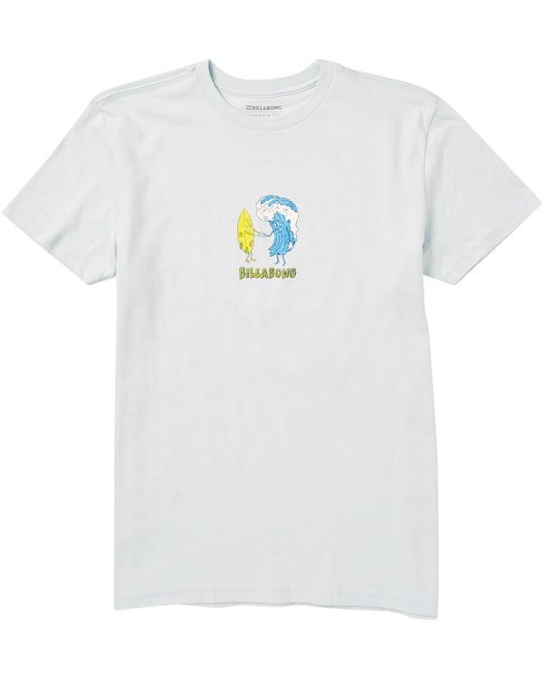 0 Kids' Hola Ola Tee Shirt Blue K401SBHO Billabong