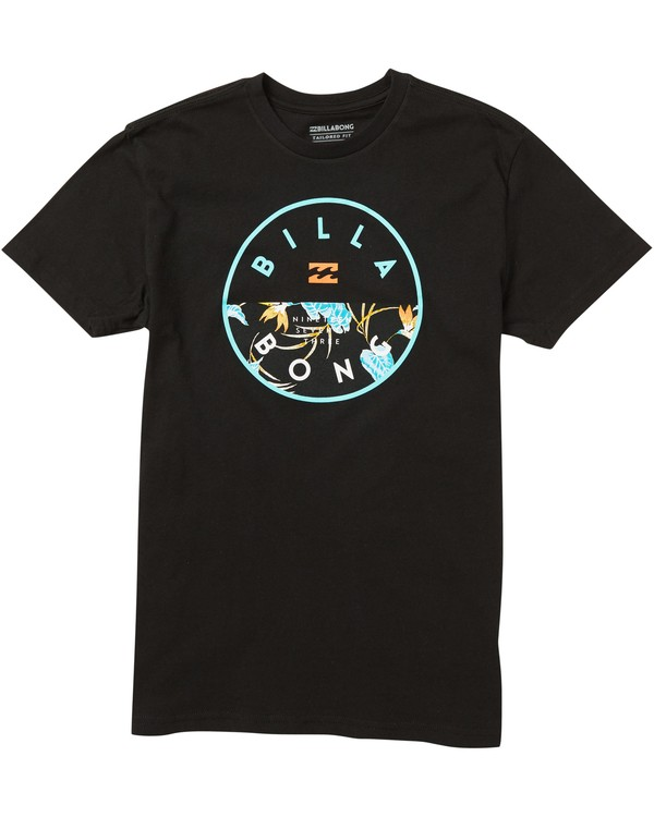 0 Kids' Rotor Fill T-Shirt  K401SBRO Billabong