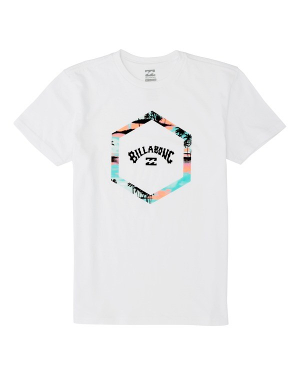 0 Boys' (2-7) Access Short Sleeve T-Shirt White K4041BAC Billabong