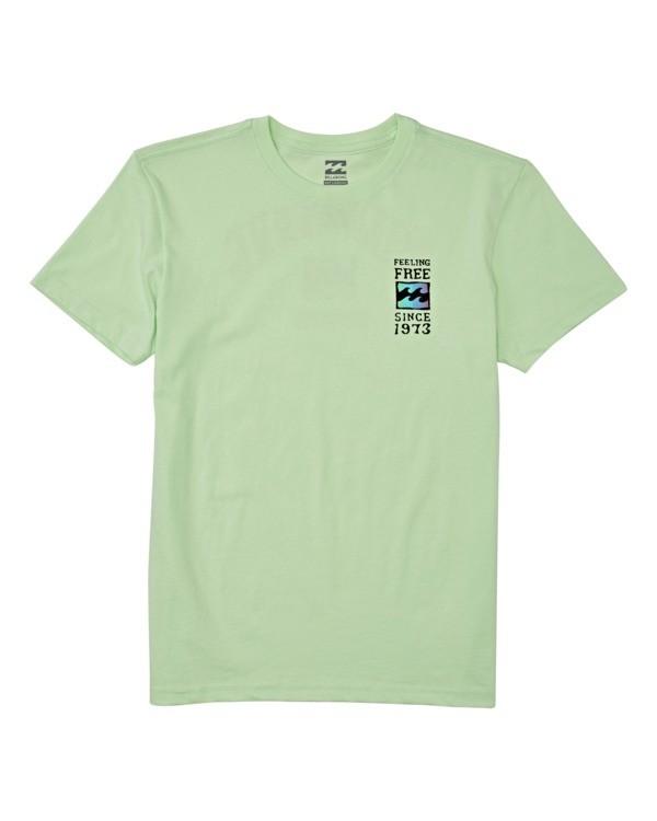 0 Boys' (2-7) Arch Short Sleeve T-Shirt Brown K4042BAR Billabong