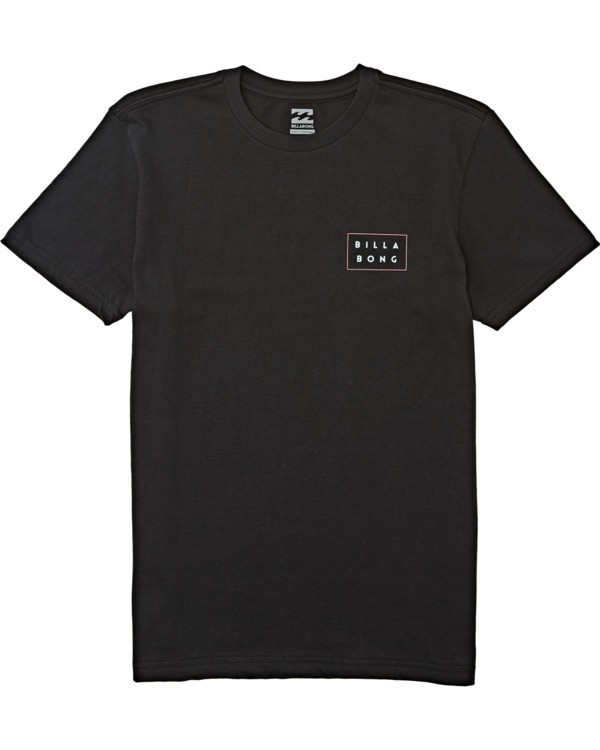0 Boys' (2-7) Die Cut Short Sleeve T-Shirt Black K4042BDC Billabong
