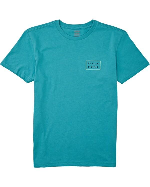 0 Boys' (2-7) Die Cut Short Sleeve T-Shirt Green K4042BDC Billabong