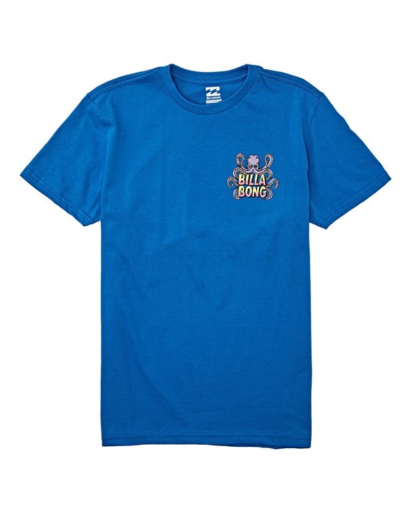 0 Boys' (2-7) Love Craft Short Sleeve T-Shirt Blue K4042BLC Billabong