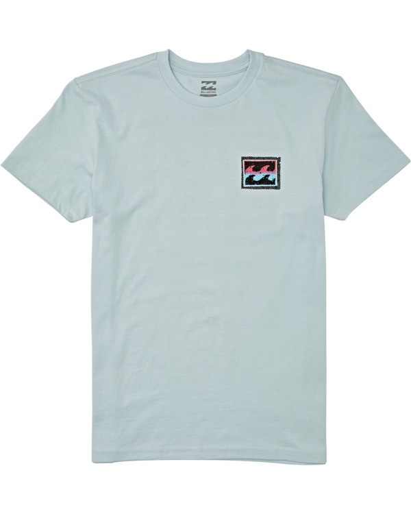 0 Boys' (2-7) Nosara Short Sleeve T-Shirt Blue K4042BNO Billabong