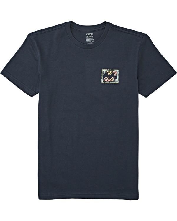 0 Boys' (2-7) Nosara Short Sleeve T-Shirt Blue K4042BNO Billabong