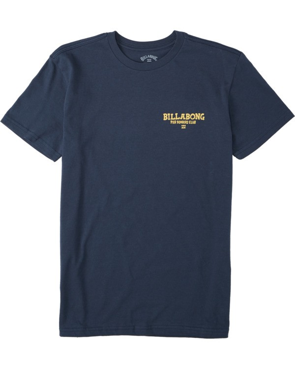0 Boys' (2-7) Pier Bomber Short Sleeve T-Shirt Blue K4043BPB Billabong