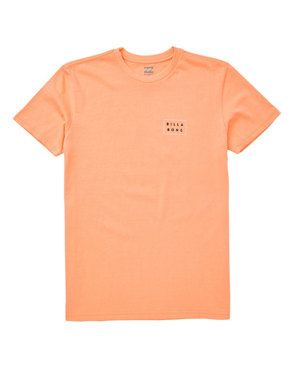 0 Boys' (2-7) Diecut Tee Orange K404UBDC Billabong