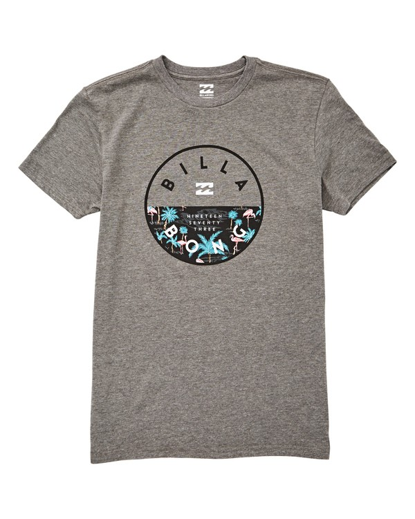 0 Boys' (2-7) Rotor T-Shirt Grey K404UBRO Billabong