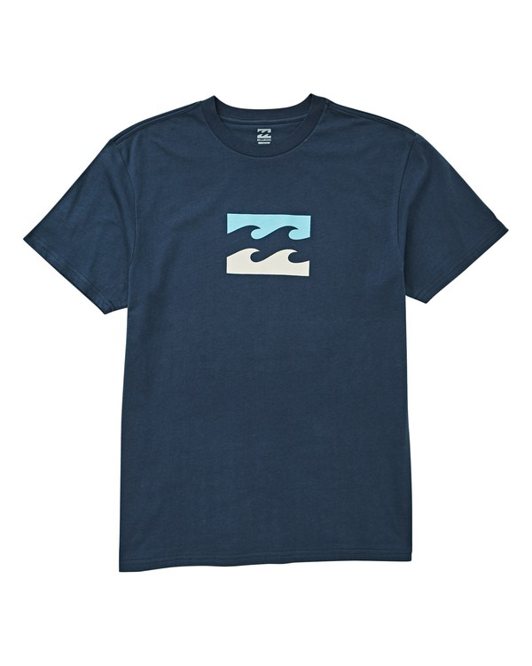 0 Boys' (2-7) Team Wave Tee Blue K404UBTE Billabong