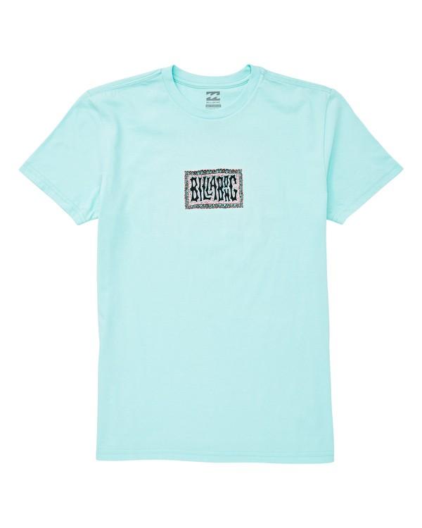 0 Boys' (2-7) Warp T-Shirt Blue K404UBWA Billabong
