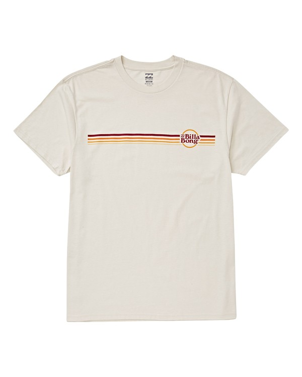 0 Boys' (2-7) Cruise Stripe T-Shirt White K404VBCS Billabong
