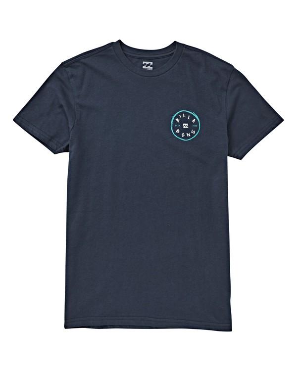 0 Boys' (2-7) Rotohand T-Shirt Blue K404VBRH Billabong