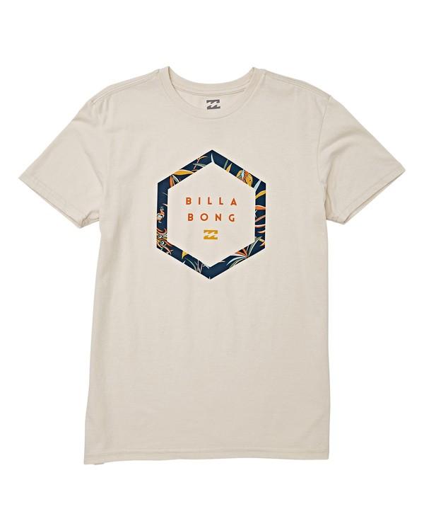 0 Boys' (2-7) Splitpeak Short Sleeve T-Shirt White K404WBAC Billabong