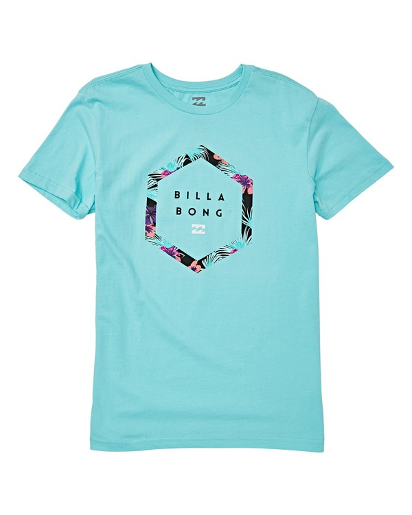 0 Boys' (2-7) Splitpeak Short Sleeve T-Shirt Blue K404WBAC Billabong