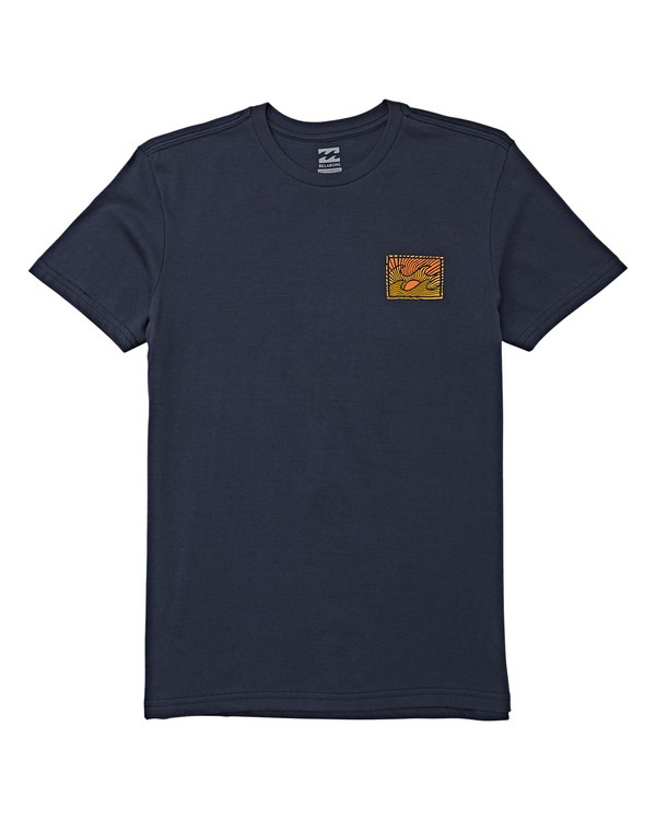 0 Boys' (2-7) Dawn Patrol Short Sleeve T-Shirt Blue K404WBDP Billabong