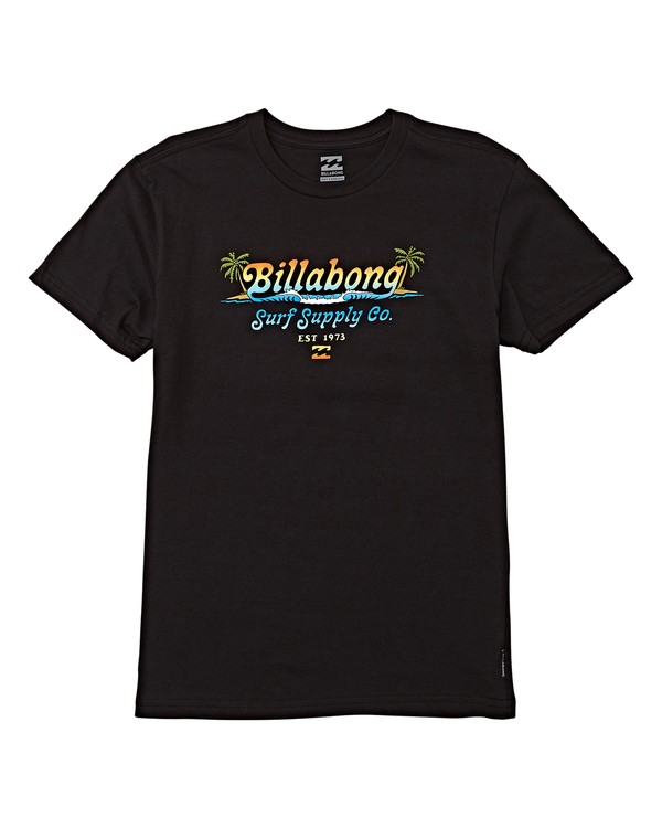 0 Boys' (2-7) Splitpeak Short Sleeve T-Shirt Black K404WBSK Billabong