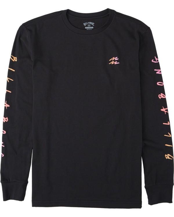 0 Boys' (2-7) Unite Long Sleeve T-Shirt Black K4053BUT Billabong