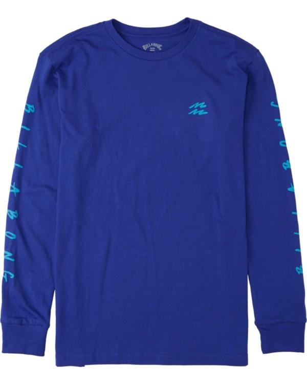 0 Boys' (2-7) Unite Long Sleeve T-Shirt Blue K4053BUT Billabong