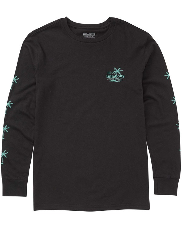 0 Boys' (2-7) Surf Club Long Sleeve Tee Black K405TBSC Billabong