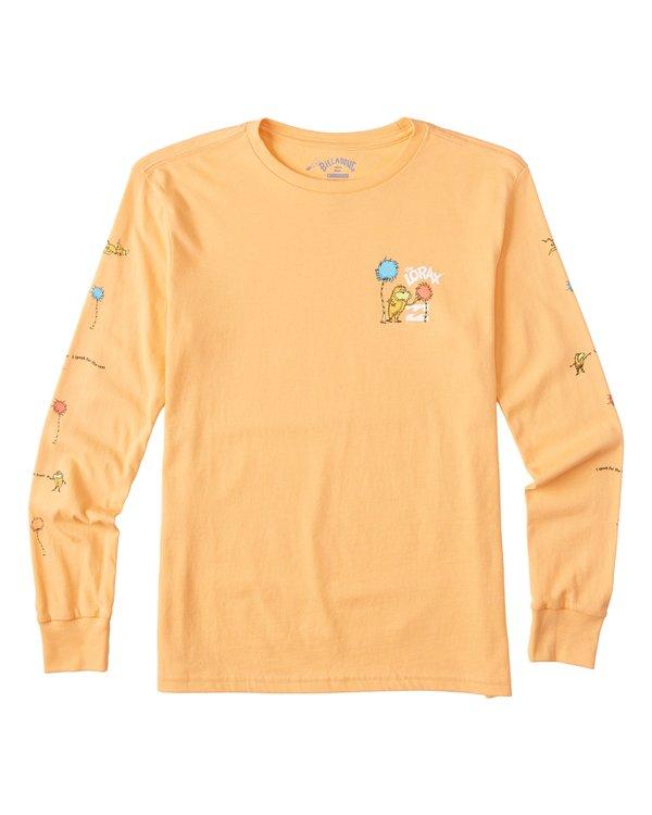 0 Boys' (2-7) Lorax Long Sleeve T-Shirt Grey K4362BLO Billabong