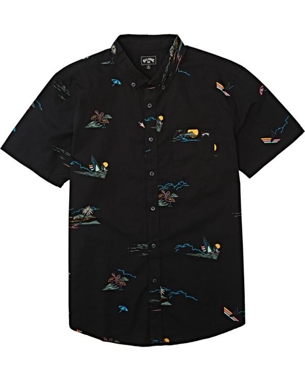 0 Boys' (2-7) Sundays Mini Short Sleeve Shirt Orange K5031BSM Billabong