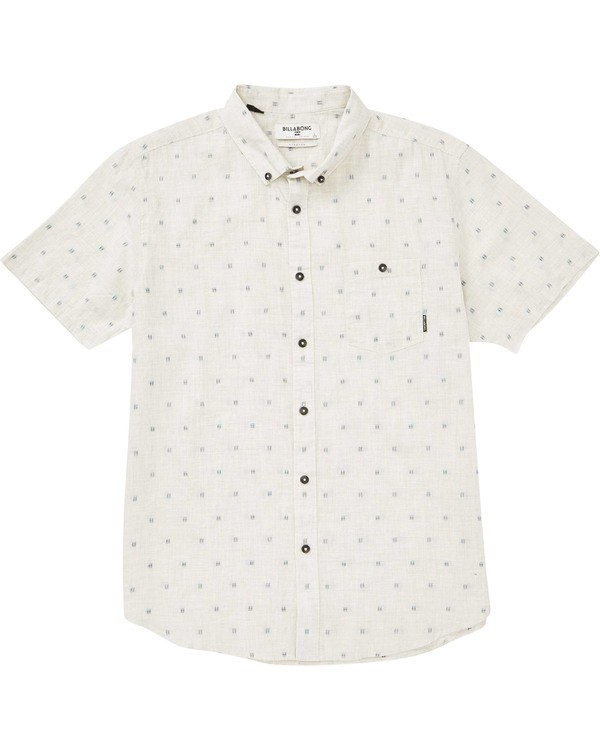 0 Boys' (2-7) Sundays Mini Short Sleeve Shirt  K503TBSM Billabong