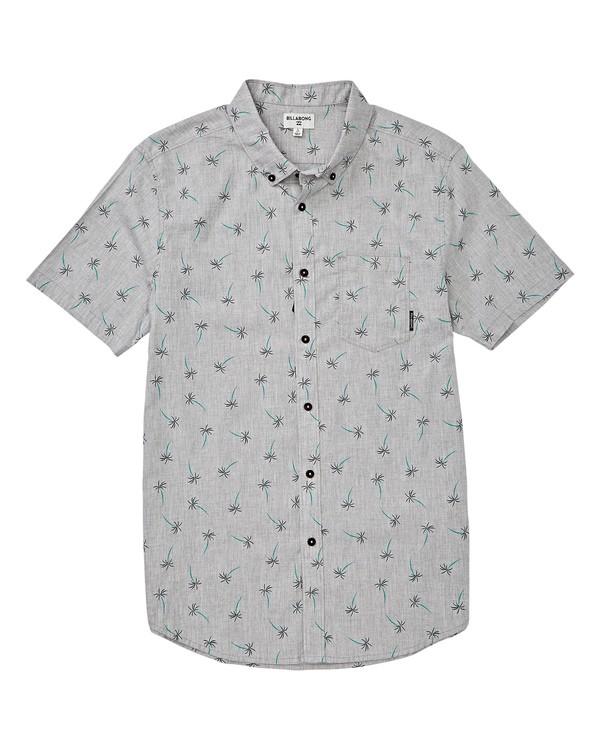 0 Boys' (2-7) Sundays Mini Short Sleeve Shirt Grey K503VBSM Billabong