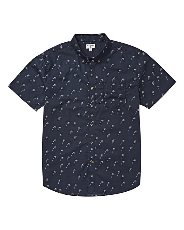 0 Boys' (2-7) Sundays Mini Short Sleeve Shirt Blue K503VBSM Billabong