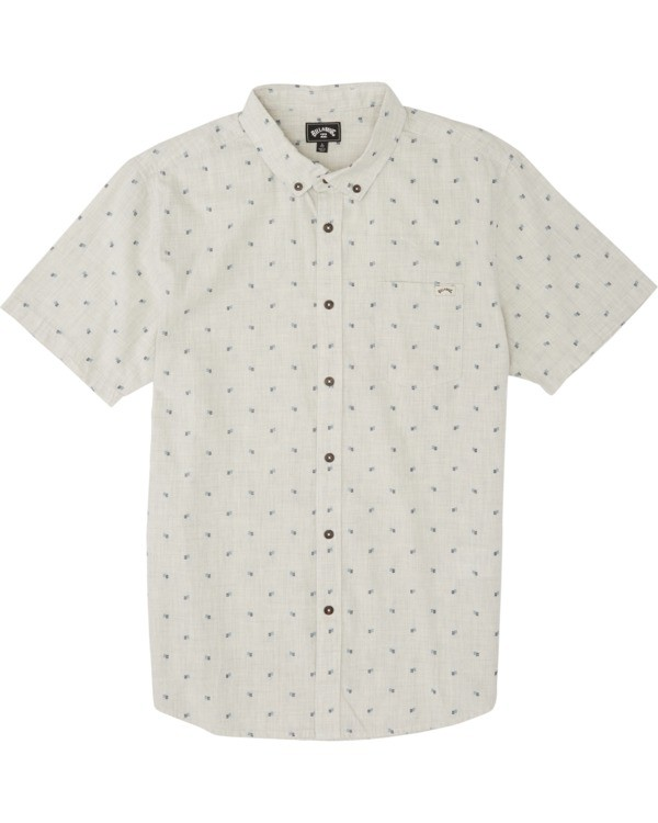 0 Boys' (2-7) All Day Jacquard Shirt Red K5071BSJ Billabong