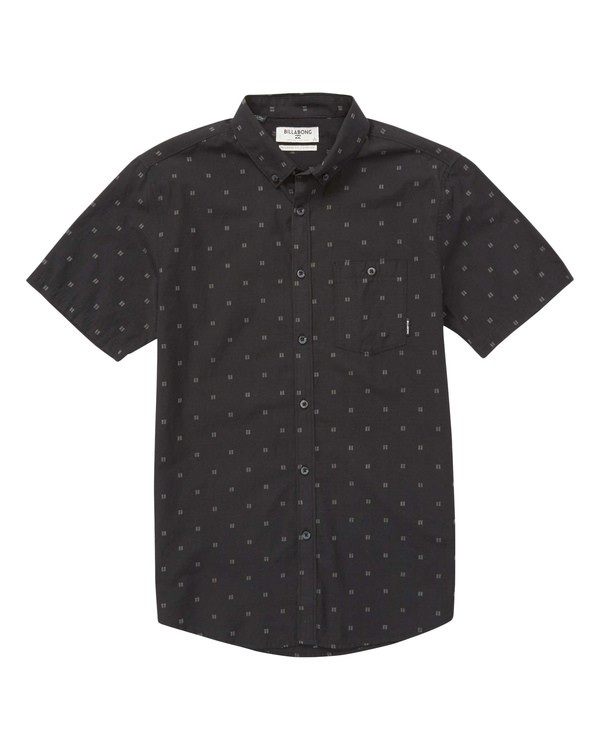 0 Boys' (2-7) All Day Jacquard Short Sleeve Shirt  K507PBSJ Billabong