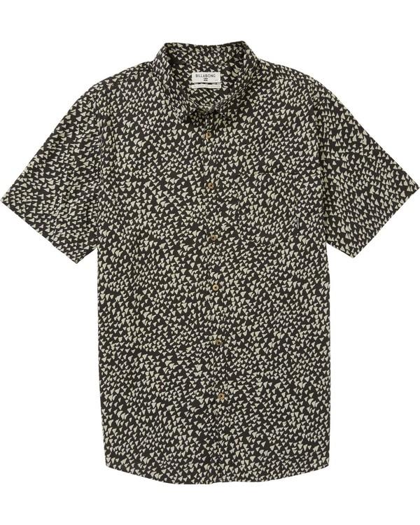 0 Boys' (2-7) Sundays Mini Short Sleeve Shirt  K508PBSM Billabong