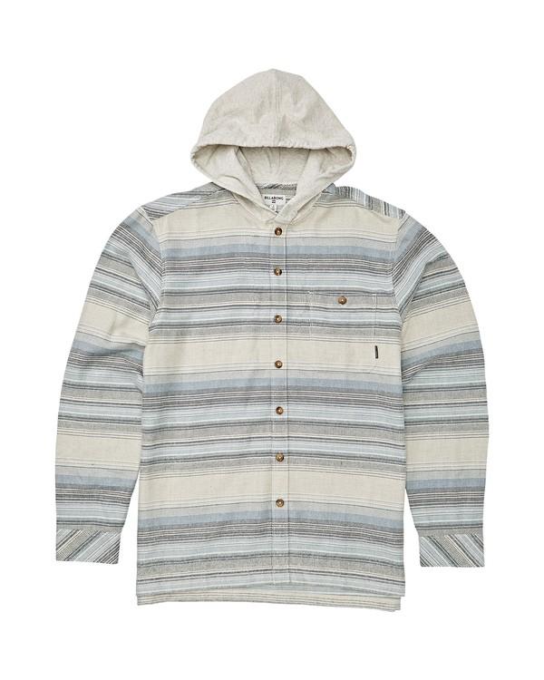 0 Boys' (2-7) Baja Flannel Shirt Beige K521VBBF Billabong
