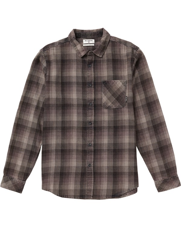 0 Kids' Freemont Plaid Flannel Shirt  K523SBFR Billabong