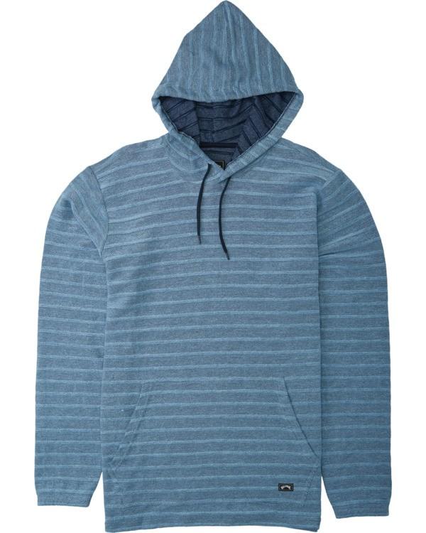 0 Boys' (2-7) Flecker Lite Pullover Hoodie Blue K6403BLI Billabong