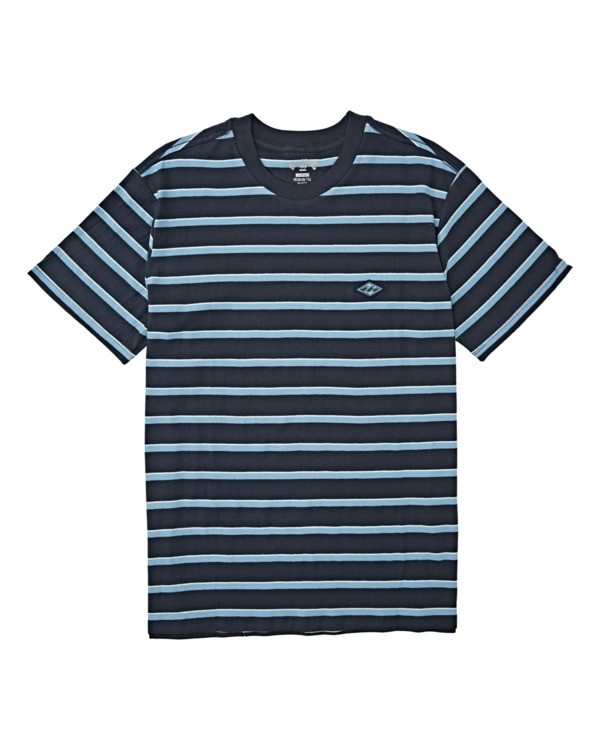 0 Boys' (2-7) Die Cut Stripe Short Sleeve Crew T-Shirt Blue K9041BDI Billabong
