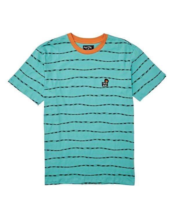 0 Boys' (2-7) Truffula Trunk Crew T-Shirt Green K9042BTR Billabong