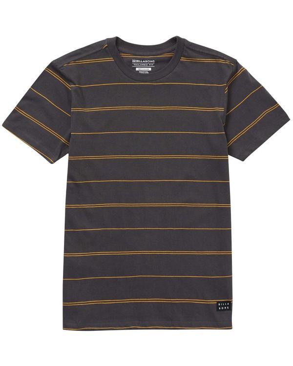 0 Boys' (2-7) Die Cut Stripe Short Sleeve Crew  K905NBDI Billabong