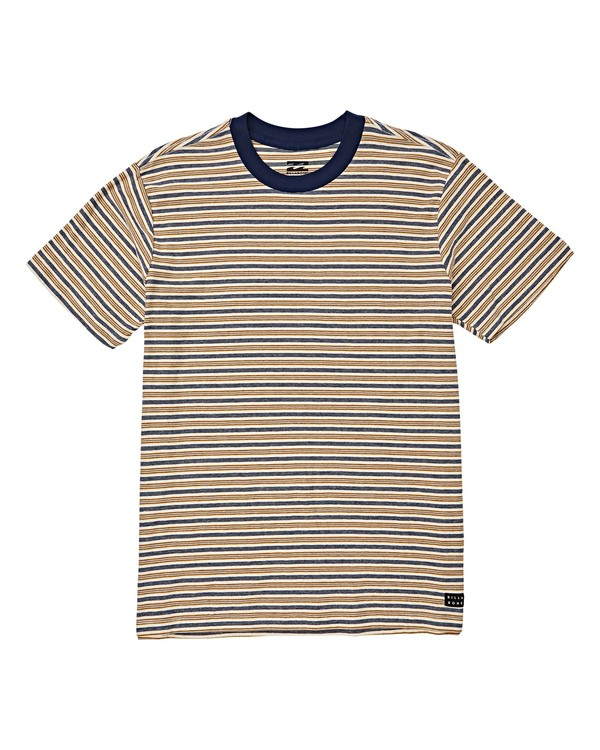 0 Boys' (2-7) Die Cut Stripe Crew T-Shirt White K905VBDI Billabong
