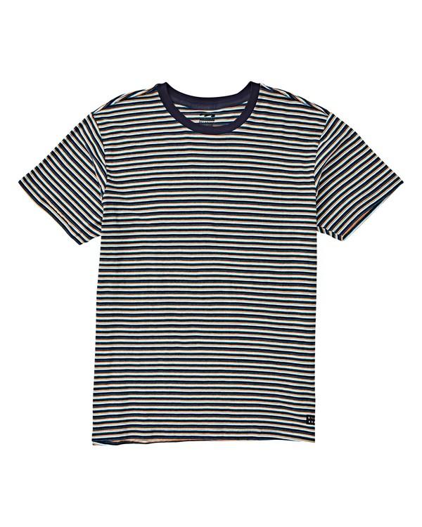0 Boys' (2-7) Die Cut Stripe Crew T-Shirt Blue K905VBDI Billabong
