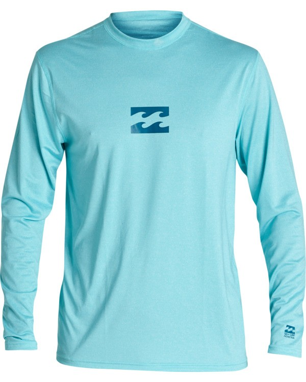 0 Boys' (2-7) All Day Wave Loose Fit Long Sleeve Surf Shirt  KR591BAL Billabong