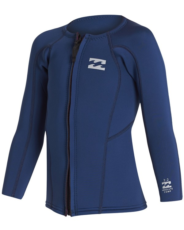 0 Boys' (2-7) 2mm Absolute Jacket Blue KWSH1BA2 Billabong